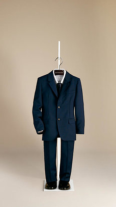 Burberry Wool Mohair Tailored Jacket