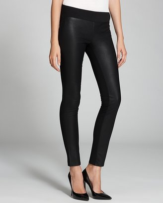 Autograph Addison Leggings - Faux Leather and Ponte