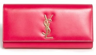 Saint Laurent 'Cassandre Monet' Leather Clutch