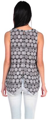 Gentle Fawn Shift Lace Tank