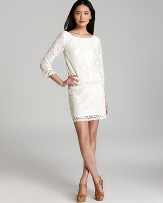 Shelli Segal Laundry by Petites Dress - Drop Waist Lace