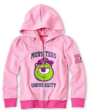 JCPenney Disney Monsters University Fleece Hoodie - Girls 2-10