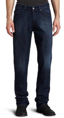 William Rast Mens Dean Slim Straight Leg Jean