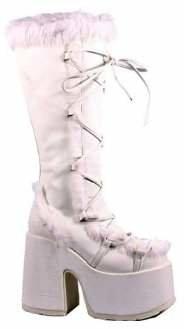 Pleaser USA Women's Camel-311/W/PU Knee-High Boot