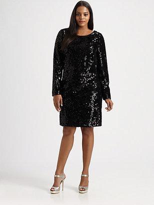 Aidan Mattox Aidan Mattox, Salon Z Sequin Dress