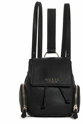 GUESS Textured Flap Backpack