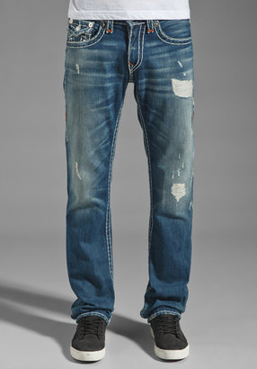 True Religion Ricky Super T Straight Leg