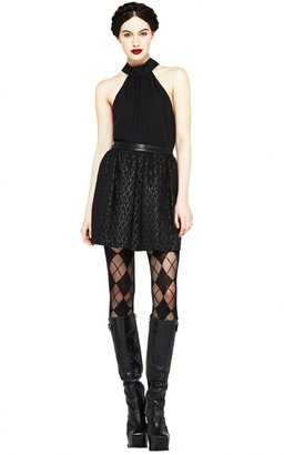 Alice + Olivia Harbor Gathered High Waist Skirt