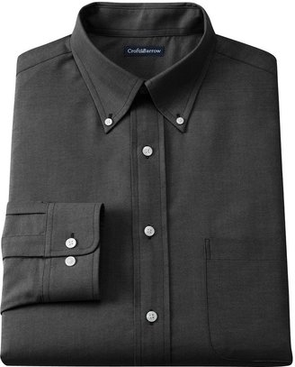 Croft & barrow ® classic-fit easy-care button-down collar oxford dress shirt