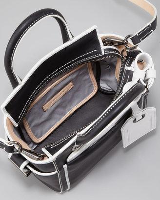 Reed Krakoff Atlantique Micro Bag, Black/White