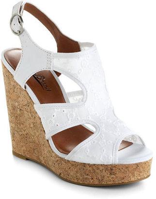 Lucky Brand Riedel Eyelet Platform Wedge Sandals