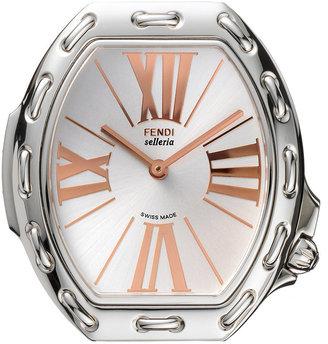Fendi Timepieces Watch Head, Women's Swiss Selleria Stainless Steel Case 39x33mm F84336H