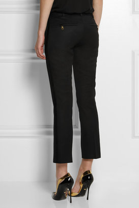 Balmain Wool slim-fit pants