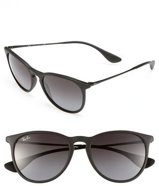 Women's Ray-Ban Erika Classic 54Mm Sunglasses - Black/ Grey Gradient $140 thestylecure.com