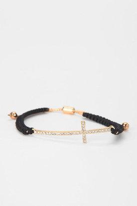 Urban Outfitters Sebastian Robe & Rhinestone Bracelet