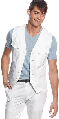 Kenneth Cole Reaction Vest, Stripe Besum Vest