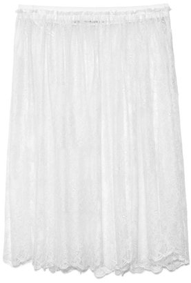 Valentino Preorder Avorio Lace Skirt