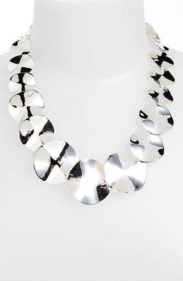 Ippolita 'Scultura' Wavy Disc Collar Necklace