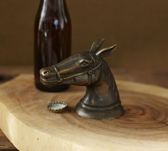 Pottery Barn Horse Head Bottle Opener
