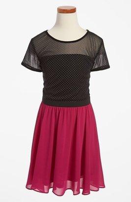Sally Miller Short Sleeve Dress (Big Girls)