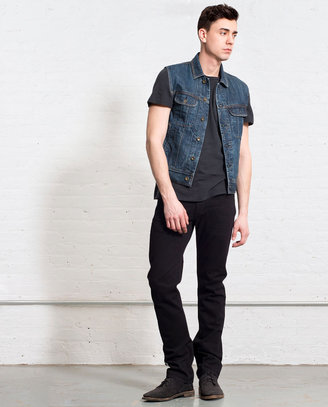 Rag and Bone Denim Vest - Medium Indigo