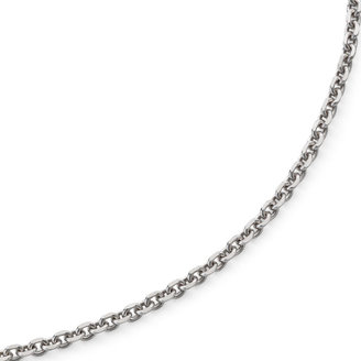 FINE JEWELRY Made in Italy 16 Criss-Cross Sterling Silver Chain Necklace $78.09 thestylecure.com