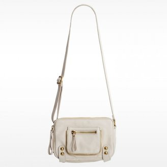 Linea Pelle Dylan Triple Zip Shoulder Bag