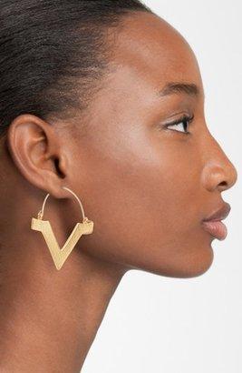 Bonnie Jonas 'V' Hoop Earrings