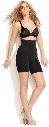 Star Power by SPANX Extra Firm Control Power Play High-Waist Mid-Thigh Slimmer 2024 (Only at Macy's) $62 thestylecure.com