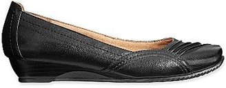 JCPenney YuuTM Franca Pleated Wedge Slip Ons