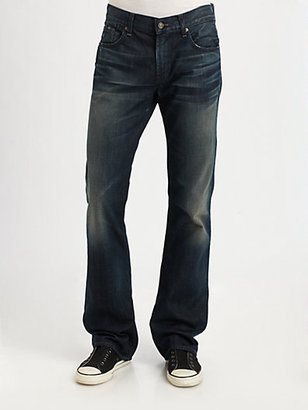 "7 For All Mankind A"" Pocket Brett Slim-Bootcut Jeans"