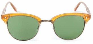 Garrett Leight round frame sunglasses