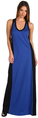 L.A.M.B. Color Block Maxi Tank Dress