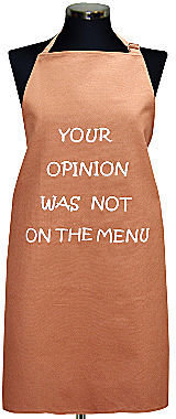 JCPenney Men's Your Opinion Apron