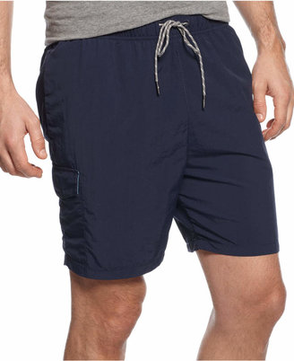 Tommy Bahama Men's Naples Happy Go Cargo 6-inch Swim Trunks $65 thestylecure.com