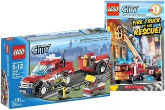 Scholastic Fire Truck To The Rescue! + Toy