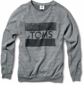 TOMS Crew Neck Sweatshirt $44 thestylecure.com