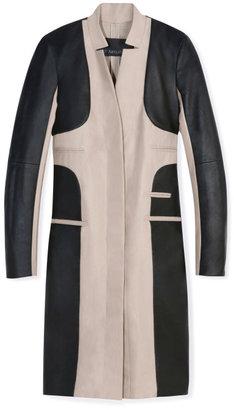 Yigal Azrouel Coated Twill Coat