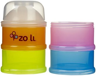 Zoli ON-THE-GO snack/formula dispsenser - 2 oz