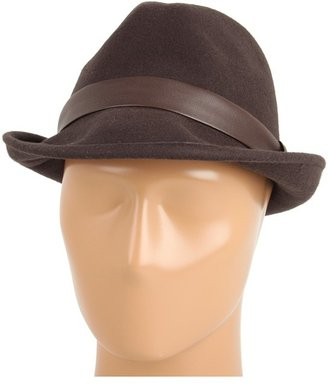 Obey Cooper Fedora (Brown) - Hats