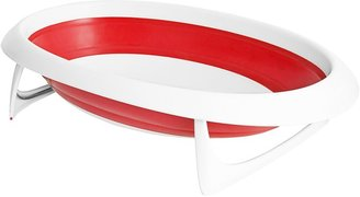 Boon Naked Collapsible Baby Bathtub - Red/White