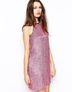 French Connection Popstars Halter Neck Dress