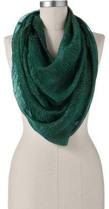 Apt. 9 lurex crinkle infinity scarf