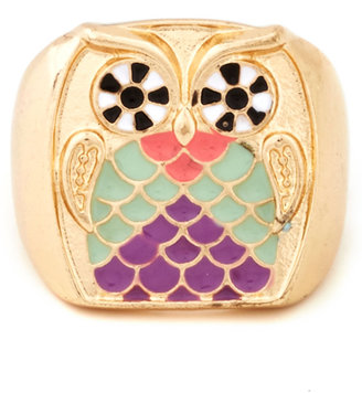 The Greatest Love of Owl Ring