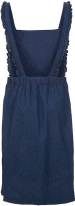 J.W.Anderson **Frill Edge Pinafore By for Topshop