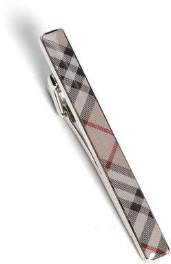 Burberry Check Tie Bar