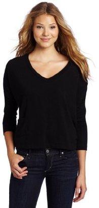 LnA Women's Clifton V-Neck Sweater