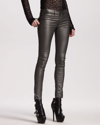 Rag and Bone The Legging Jeans, Pewter