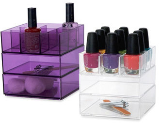 Bed Bath & Beyond Glam Nail Polish & Accessory Storage Cube