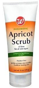 Walgreens Invigorating Apricot Facial Scrub